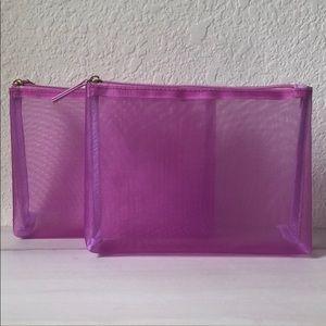 5/$25 SEPHORA Cosmetics Bag Duo